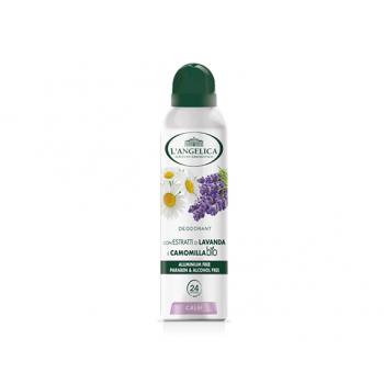 Дезодорант спрей с экстрактом лаванды и ромашки L'Angelica DEO