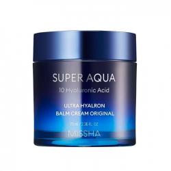 Интенсивно увлажняющий крем-бальзам для лица MISSHA Super Aqua Ultra Hyalron Balm Cream Original