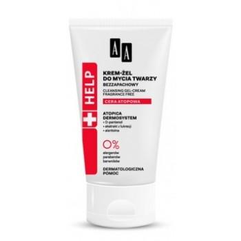 Крем-гель для умывания сухой и чувствительной кожи лица