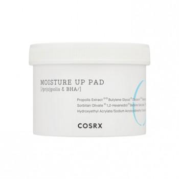 Увлажняющий тоник на ватном диске для сухой и чувствительной кожи One Step Moisture Up Pad Cosrx