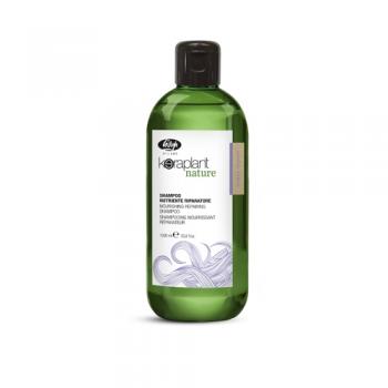 Шампунь для глубокого питания и увлажнения волос Keraplant Nature nutri repair Lisap