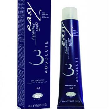 Безаммиачный преманентный крем-краситель для волос Escalation Easy ABSOLUTE3 Lisap