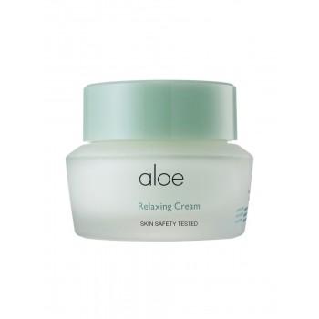 Успокаивающий крем для лица с алоэ вера Aloe Relaxing Cream It's Skin