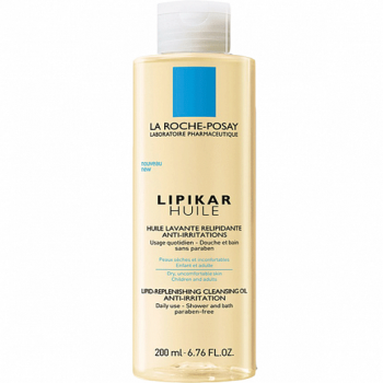 Масло для тела очищающее La Roche-Posay Lipikar