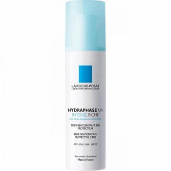 Средство увлажняющее интенсивное для сухой кожи La Roche-Posay Hydraphase UV Intense Riche