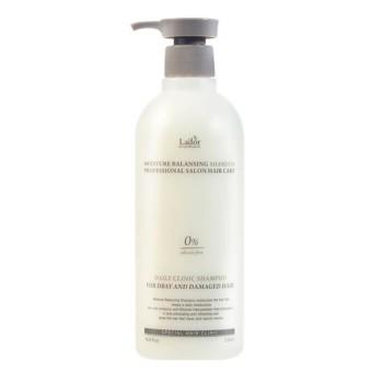 Увлажняющий бессиликоновый шампунь La'dor Moisture Balancing Shampoo