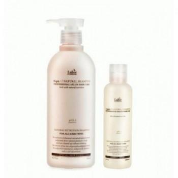 Шампунь безсульфатный, с натуральными ингредиентами, pH 6.0 TripleX3 Natural Shampoo Lador