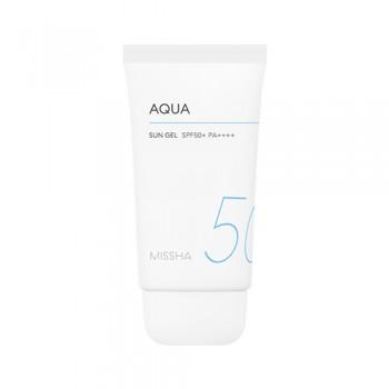 Солнцезащитный гель для лица MISSHA All Around Safe Block Aqua Sun Gel SPF50+/PA++++