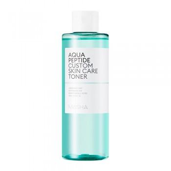 Тоник для лица с пептидами MISSHA Aqua Peptide Custom Skin Care Toner