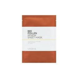 Обновляющая тканевая маска для лица MISSHA Bee Pollen Renew Sheet Mask