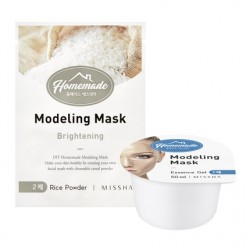 Альгинатная маска для лица MISSHA Homemade Modeling Mask (Rice)