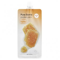 Ночная маска для лица MISSHA Pure Source Pocket Pack (Honey)