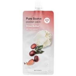Ночная маска для лица MISSHA Pure Source Pocket Pack (Shea Butter)