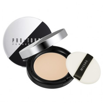 Компактная пудра для лица MISSHA Pro-Touch Powder Pact SPF25/PA++ No.21/Light Beige