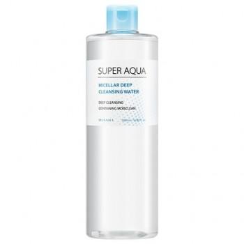 Мицеллярная вода для снятия макияжа MISSHA Super Aqua Micellar Deep Cleansing Water