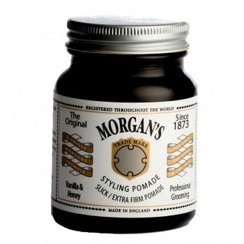 Помада для укладки Morgans Pomade (Vanilla & Honey),экстрасильной фиксации без блеска