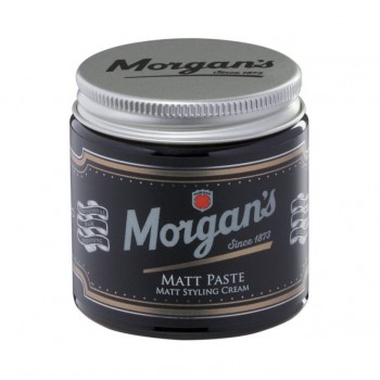 Матовая глина Morgans Pomade с кератином для укладки