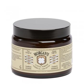 Классическая помада Morgans Pomade с миндальным маслом и маслом ши