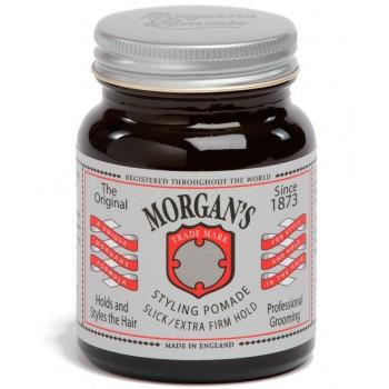 Помада для укладки Morgans Pomade,экстрасильной фиксации без блеска