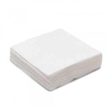 Салфетка 5х5 Спанлейс белый 40г/м 100шт/уп