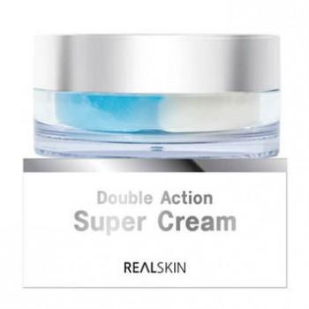 Увлажняющий и питательный крем двойного действия Double Action Super Cream Real Skin
