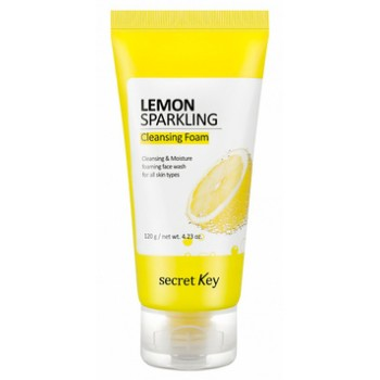 Очищающая пенка для умывания на газированной воде с лимоном Cleansing Foam