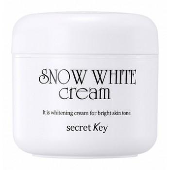 Осветляющий крем с молочными протеинами для тусклой кожи лица Snow White Cream