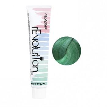Крем для прямого окрашивания волос rEvolution Color Clear чистый зеленый Pure Green Alfaparf