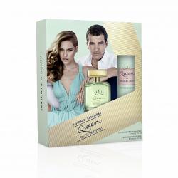 Набор (т\в 80мл+дез. спрей 150мл) Antonio Banderas Queen of Seduction Женский