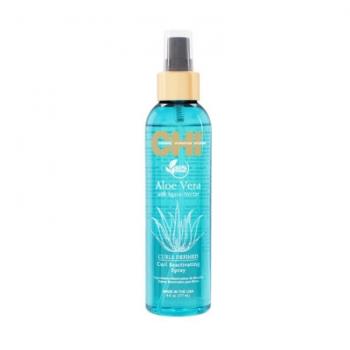 Спрей для возрождения кудрей с алоэ нектаром агавы CHI ALOE VERA WITH AGAVE NECTAR Curl Reactivating Spray