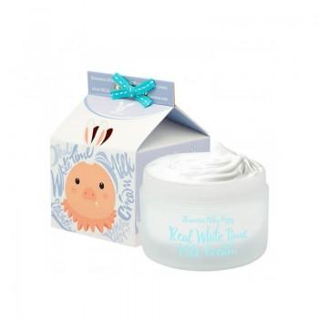 Крем осветляющий с козьим молоком для лица и тела
