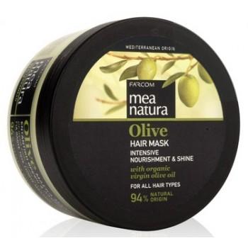 Питательная маска с оливковым маслом для всех типов волос Farcom MEA NATURA Olive