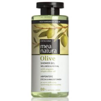 Гель для душа с оливковым маслом Farcom MEA NATURA Olive