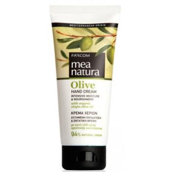 Увлажняющий и питательный крем для рук с оливковым маслом Farcom MEA NATURA Olive