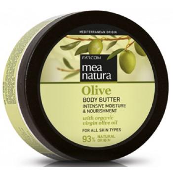 Увлажняющее и питательное масло для тела с оливковым маслом Farcom MEA NATURA Olive