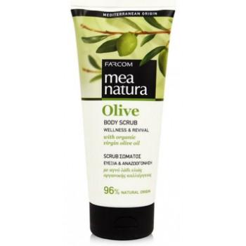 Скраб для тела с оливковым маслом Farcom MEA NATURA Olive
