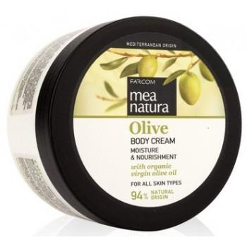 Увлажняющий и питательный крем для тела с оливковым маслом Farcom MEA NATURA Olive