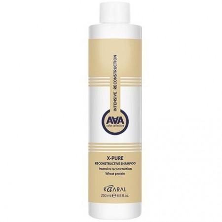 Восстанавливающий шампунь для поврежденных волос с пшеничными протеинами