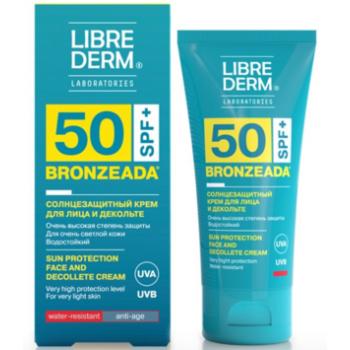 Солнцезащитный крем для лица и зоны декольте Librederm