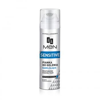 Увлажняющая пенка для бритья AA MEN Sensitive