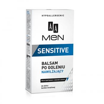 Увлажняющий бальзам после бритья MEN Sensitive Skin AA