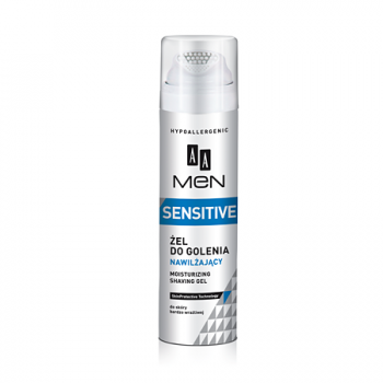Увлажняющий гель для бритья MEN Sensitive Skin AA