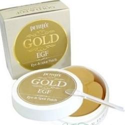 Гидрогелевые патчи для кожи вокруг глаз, с золотом и EGF Gold & EGF Hydro Gel Essence Eye&Spot Patch PETITFEE