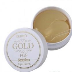 Гидрогелевые патчи для кожи вокруг глаз, с золотом и EGF | 60шт | Gold & EGF Premium Hydro Gel Eye Patch PETITFEE Gold&EGF