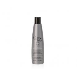 Шампунь с кератином, микрочастицами золота и бриллианта для чувствительной кожи головы и волос Fanola Oro Therapy 24k Diamante Puro