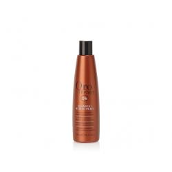 Шампунь с кератином, микрочастицами золота и рубина для окрашенных волос Fanola Oro Therapy 24k Rubino Puro
