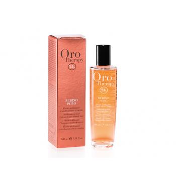 Защитный флюид с микрочастицами золота и рубина для окрашенных волос Fanola Oro Therapy 24k Rubino Puro
