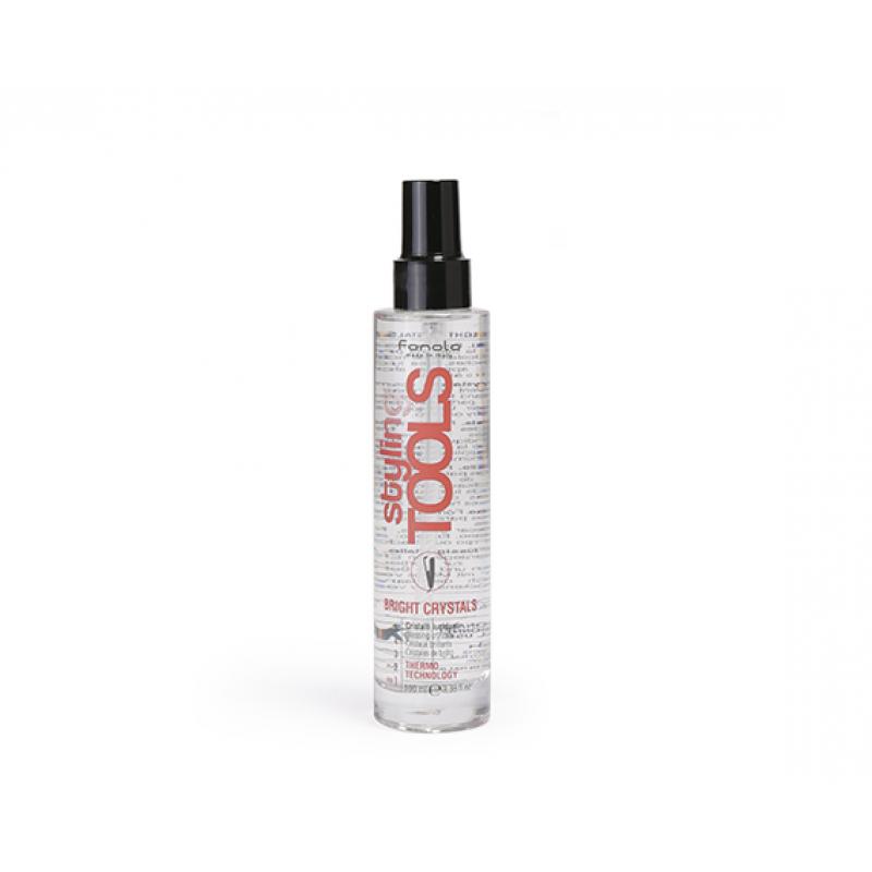 Fanola Styling Tools Защитная сыворотка для блеска волос Bright Crystals