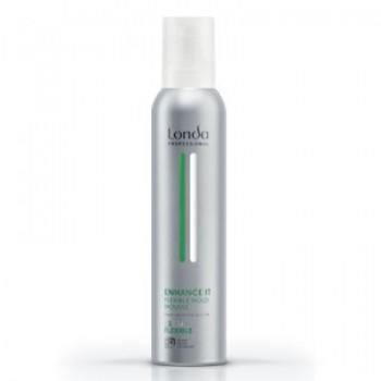 Пена д/укладки волос нормальная фиксация Volume Mousse Enhance Flexible Londa Professional
