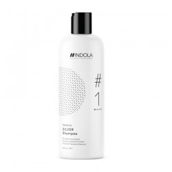 Шампунь придающий серебристый оттенок волосам Color Silver Shampoo Indola Professional